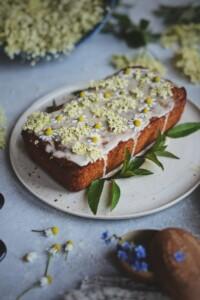 Fare Isle | Wilde Elderflower Honey Lemon Drizzle Cake - Egg/Dairy Free