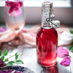 wild rose simple syrup