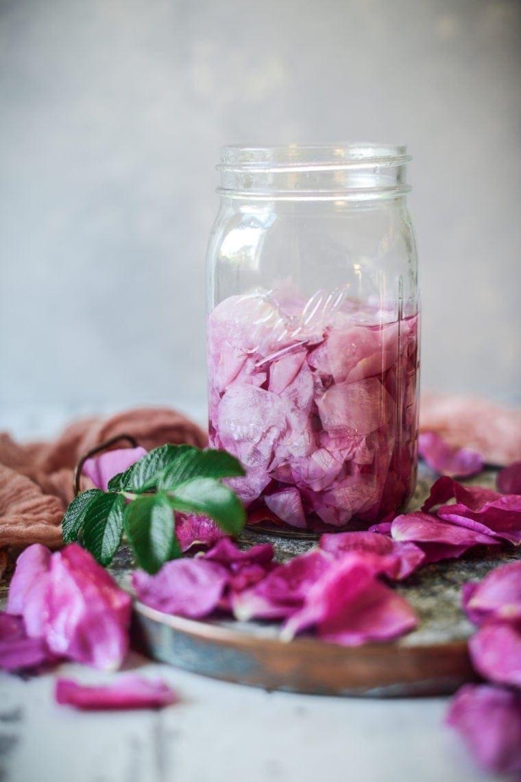 wild rose tea