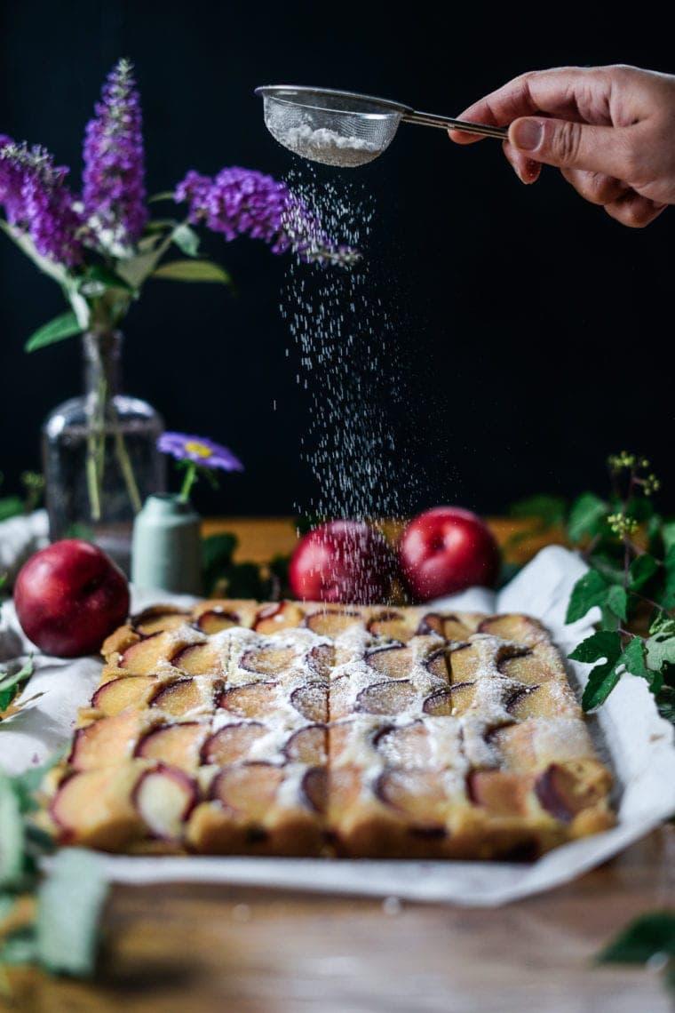 Fare Isle | Vegan Semolina Plum Cake