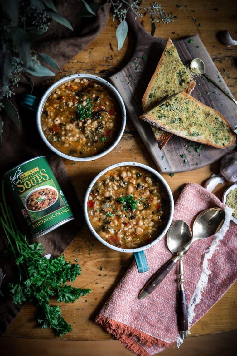 Fare Isle | Vegan Roasted Garlic Bread Recipe