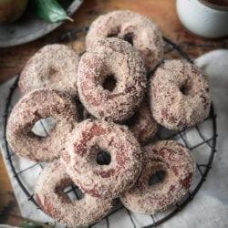 Fare Isle | Vegan Apple Cider Doughnuts