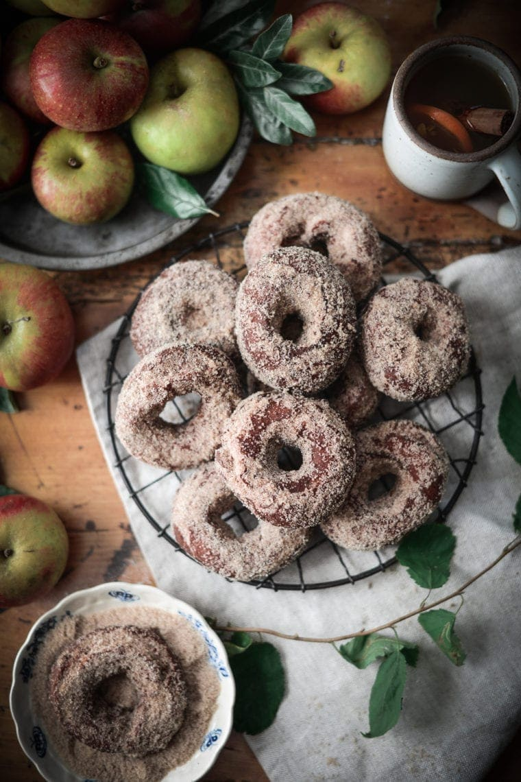 Fare Isle | Vegan Apple Cider Doughnuts