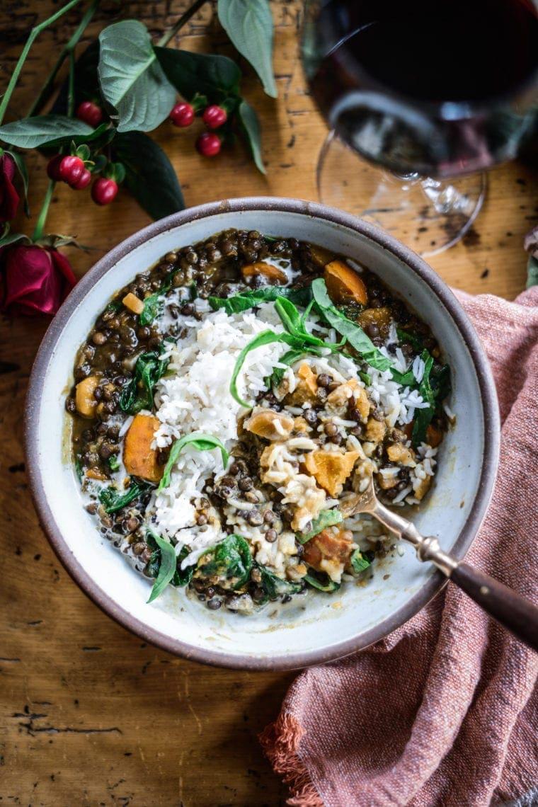 Fare Isle   Vegan Pumpkin Lentil Stew