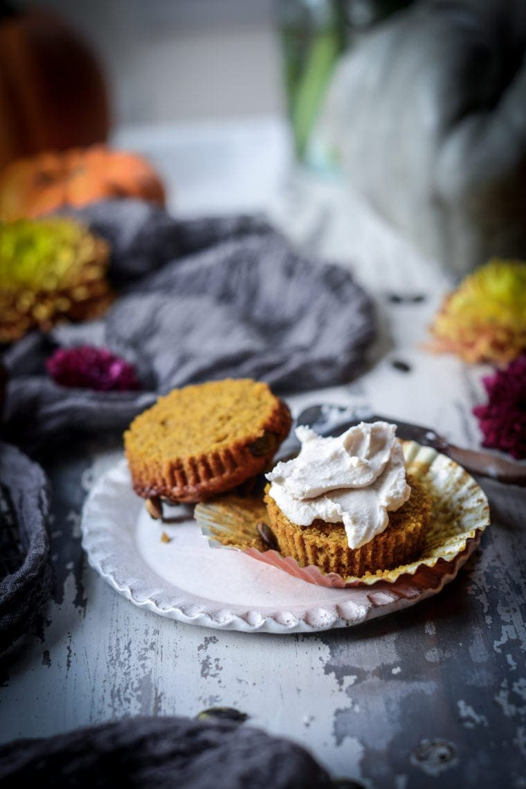 Fare Isle | Vegan Pumpkin Spice Muffins