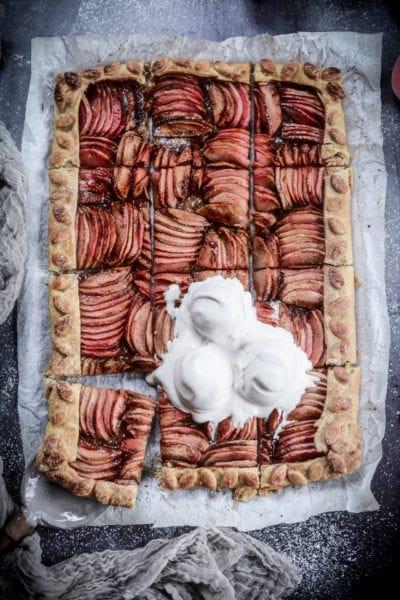 Fare Isle | Vegan Hidden Rose Apple Galette
