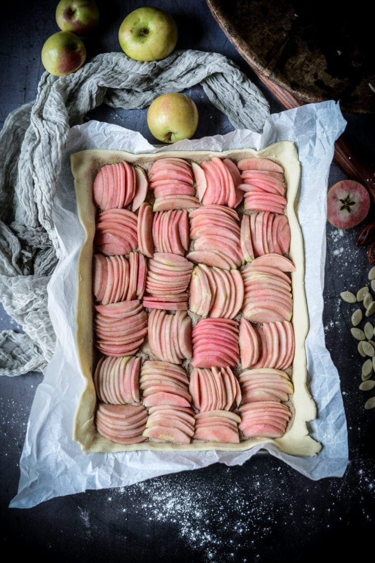 Fare Isle | Vegan Hidden Rose Apple Galette
