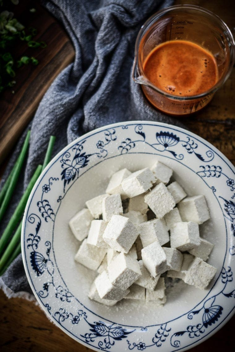 Fare Isle | Vegan Sweet Chili Tofu