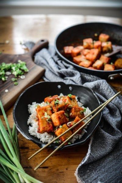 Fare Isle | Vegan Sweet Chili Tofu