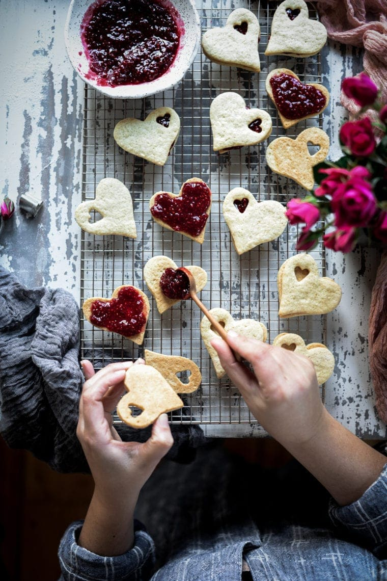 Fare Isle | Sourdough Jam Sandwich Cookies - Vegan
