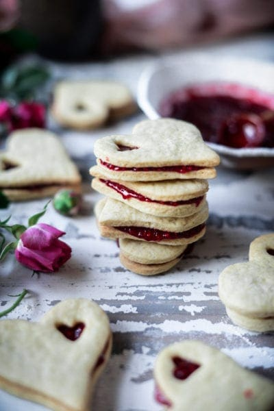 Fare Isle | Sourdough Jam Sandwich Cookies