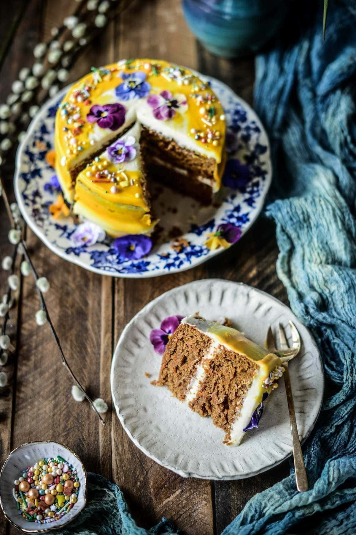 Fare Isle | Vegan Carrot Cake Recipe