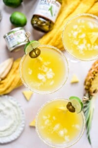 Fare Isle | Spicy Pineapple Margaritas