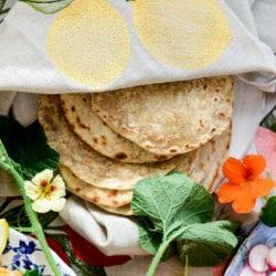 Fare Isle | Vegan Stuffed Squash Blossoms