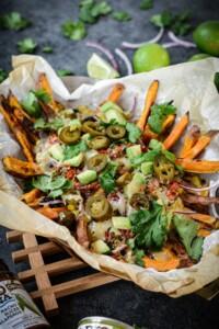 Fare Isle   Loaded Tex-Mex Sweet Potato Fries