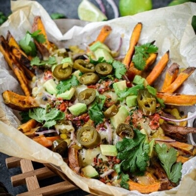 Loaded Tex-Mex Sweet Potato Fries