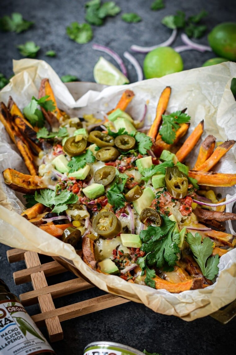 Fare Isle | Loaded Tex-Mex Sweet Potato Fries