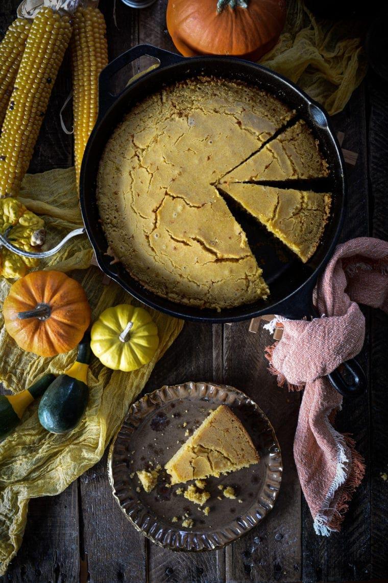 Fare Isle | Vegan Skillet Cornbread