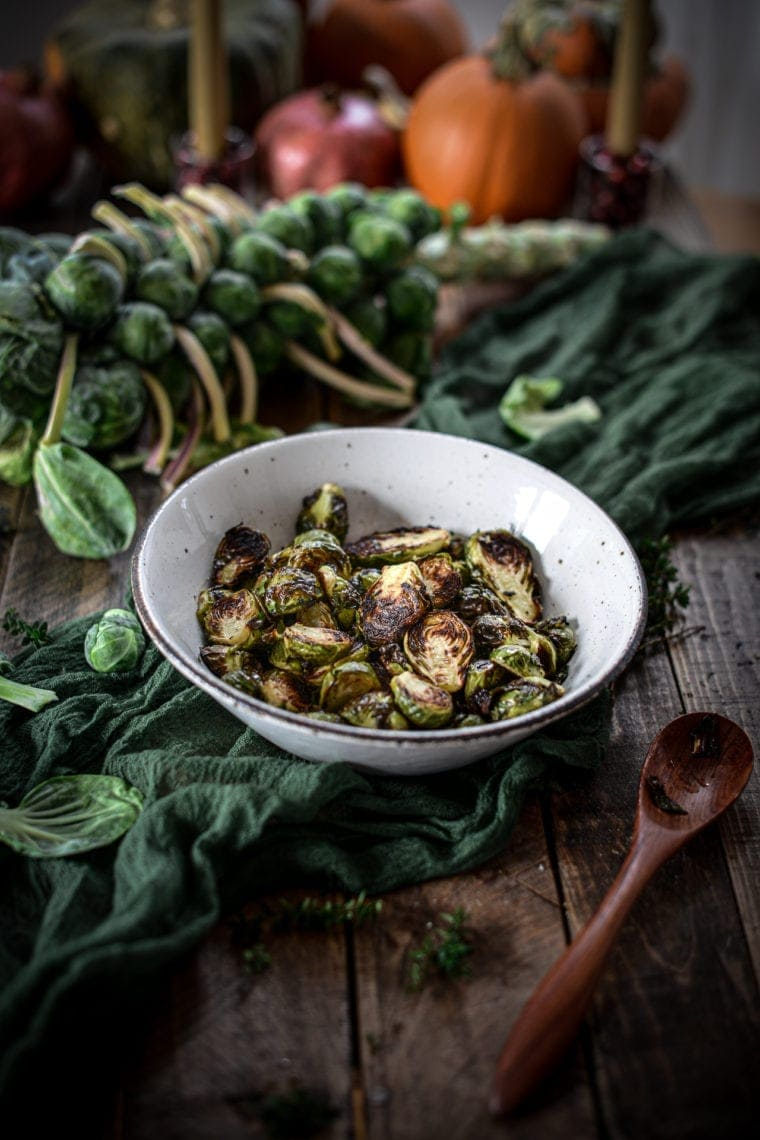 Fare Isle | Roasted Brussles Sprouts