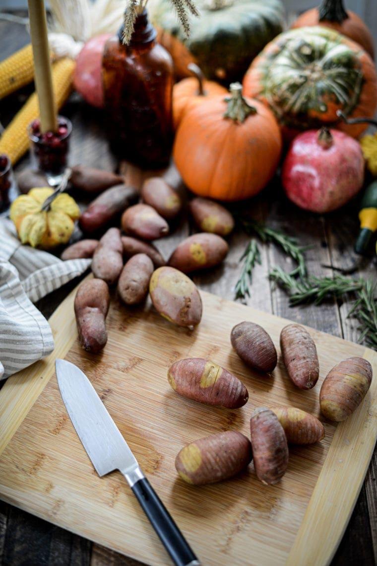 Fare Isle | Roasted Rosemary Fingerling Potatoes