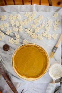 Fare Isle   Vegan Maple Pumpkin Pie