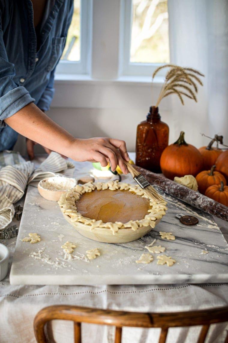 Fare Isle | Vegan Maple Pumpkin Pie