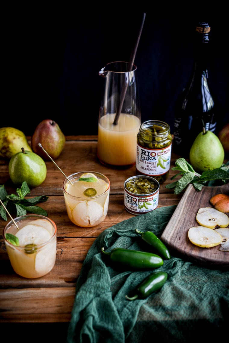 Fare Isle | Jalapeno Pear Sparkling Punch