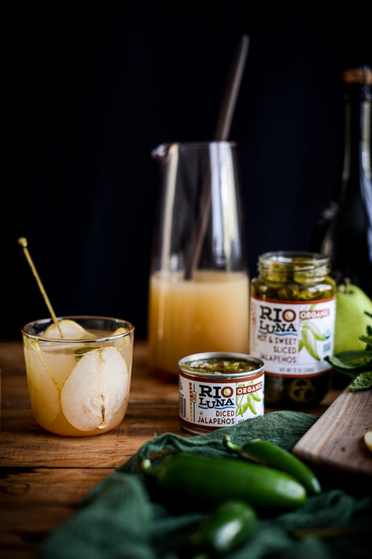 Fare Isle   Jalapeno Pear Sparkling Punch