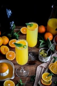 Fare Isle | Green Chile Tangerine Blissini Cocktail