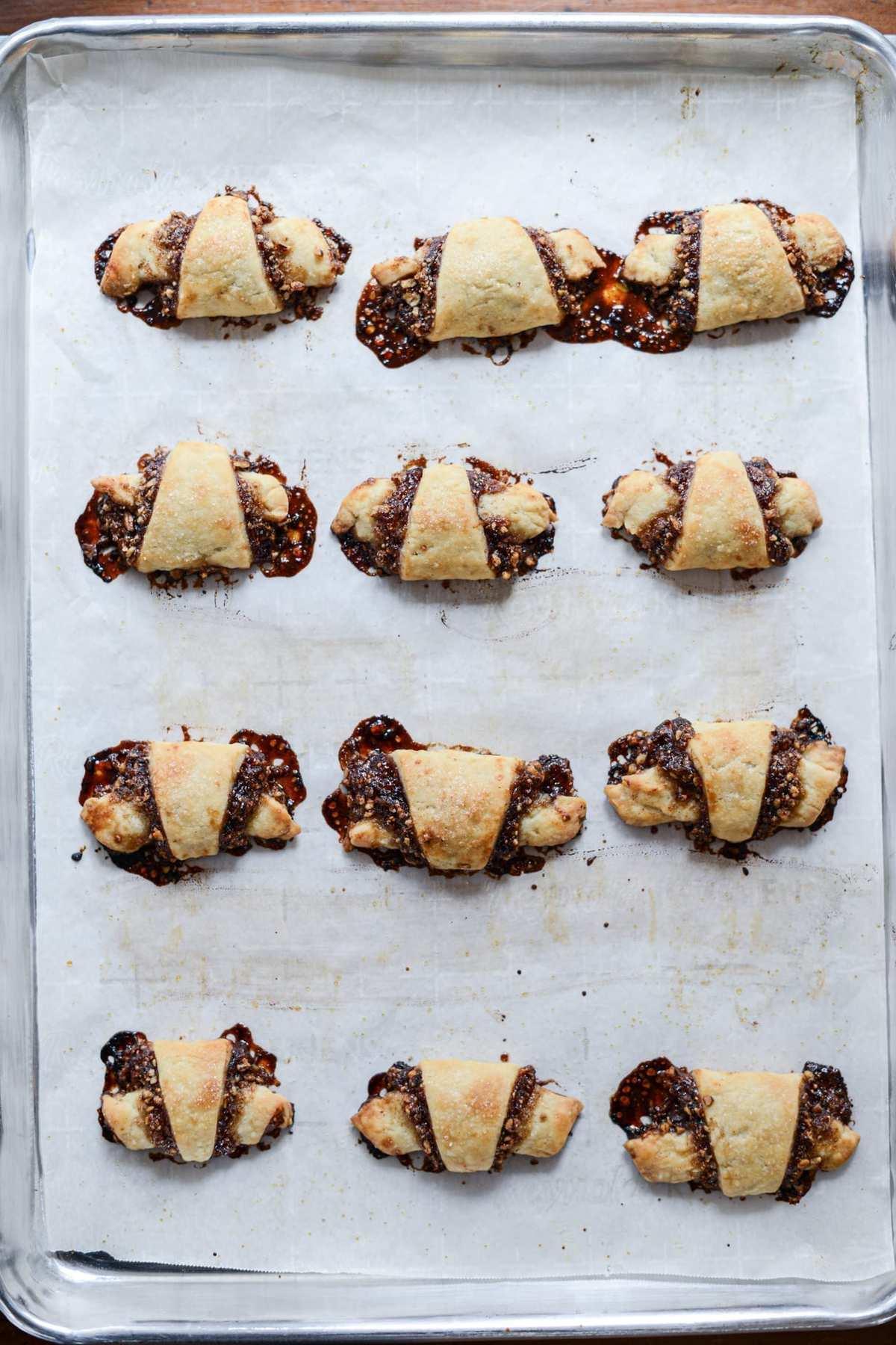 Fare Isle | Vegan Rugelach - Christmas Cookies