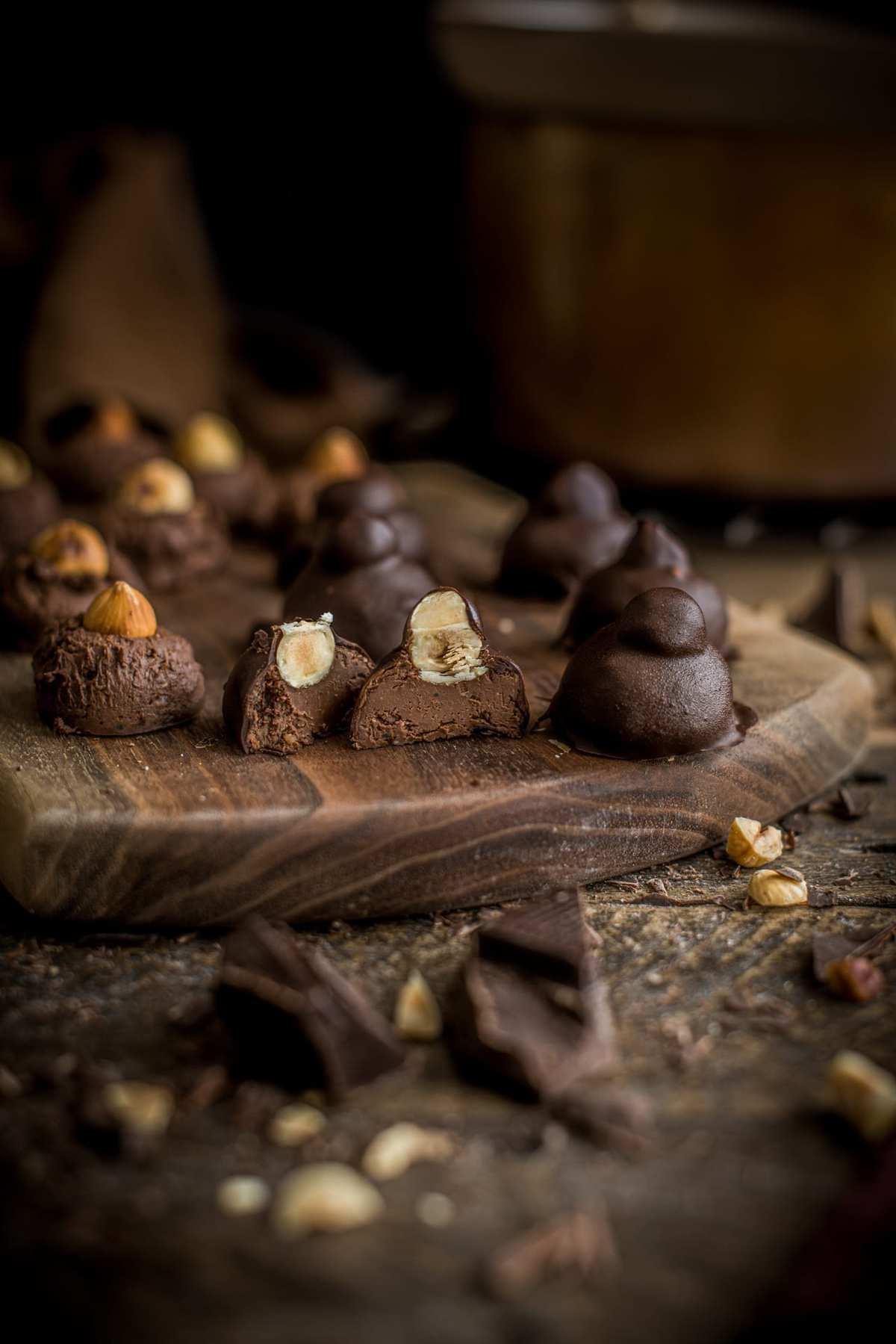 Homemade Vegan Baci Truffles | Fare Isle