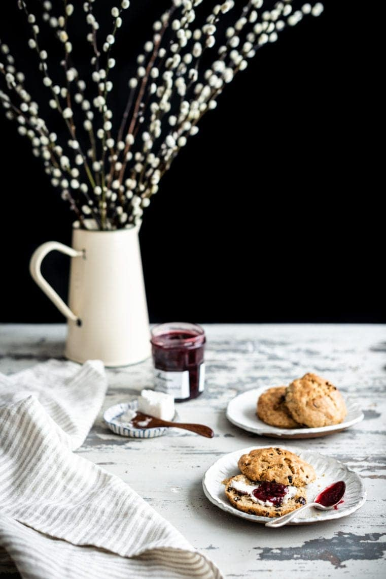 Vegan Irish Soda Bread Scones | Fare Isle