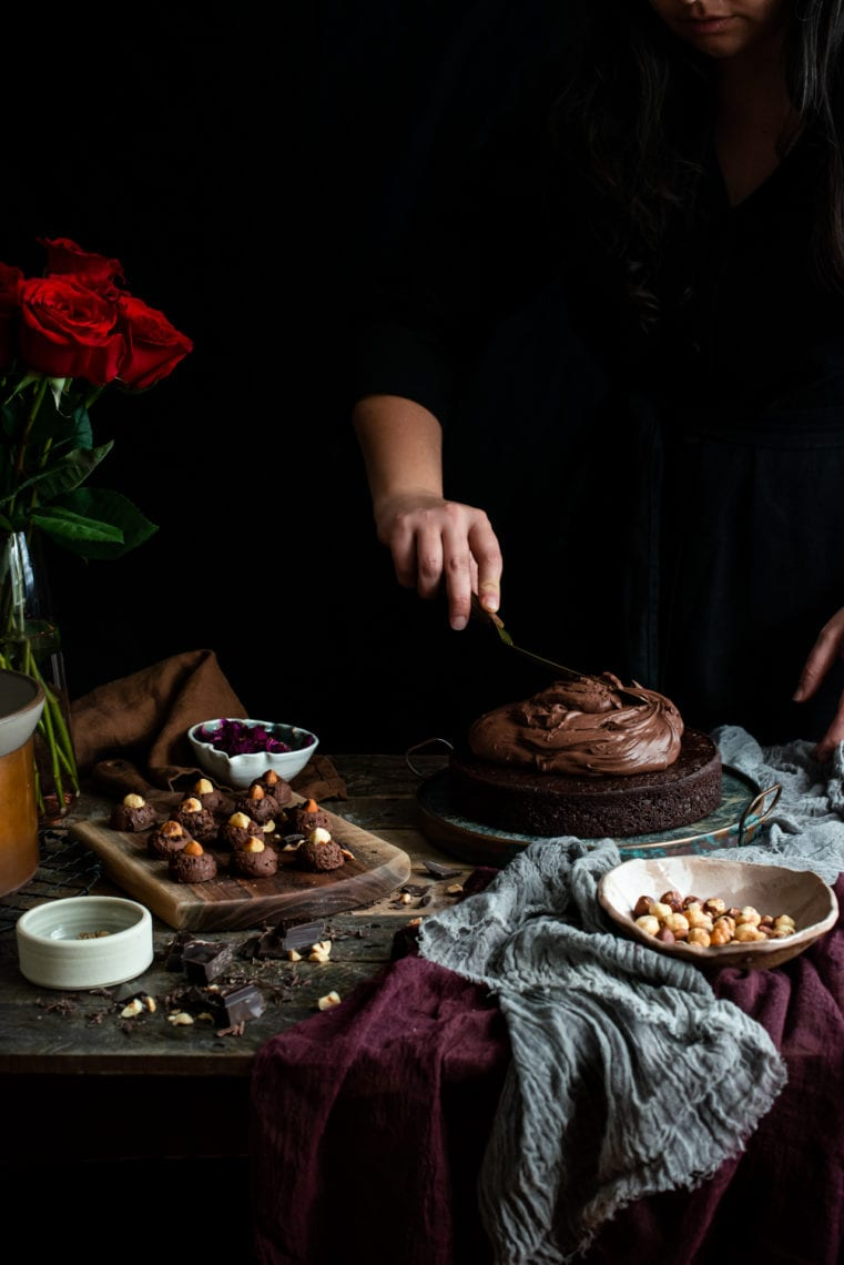 Vegan Chocolate Cake with Whipped Coconut Ganache | Fare Isle