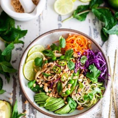 Vegan Thai Noodle Bowls
