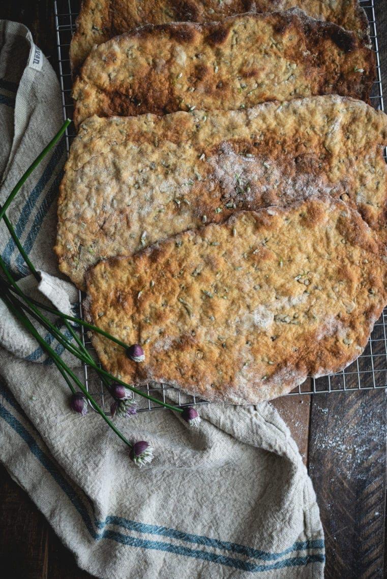 Fare Isle | Sourdough Discard Crackers