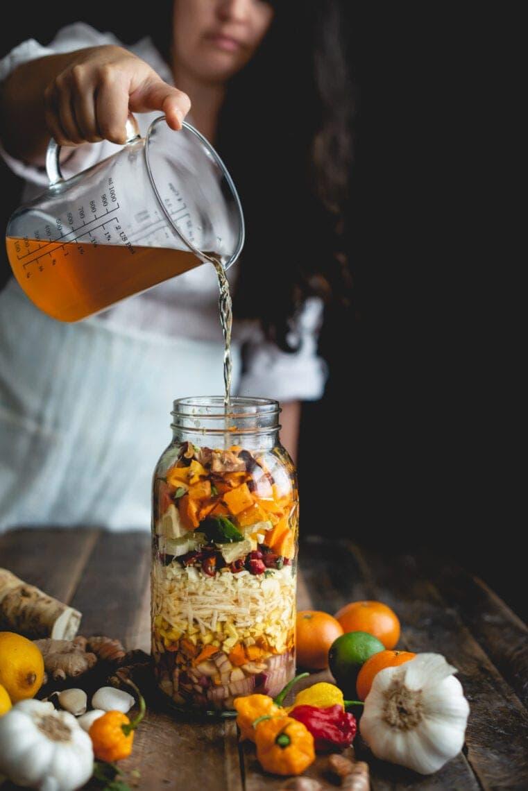 Fire Cider Recipe | Fare Isle
