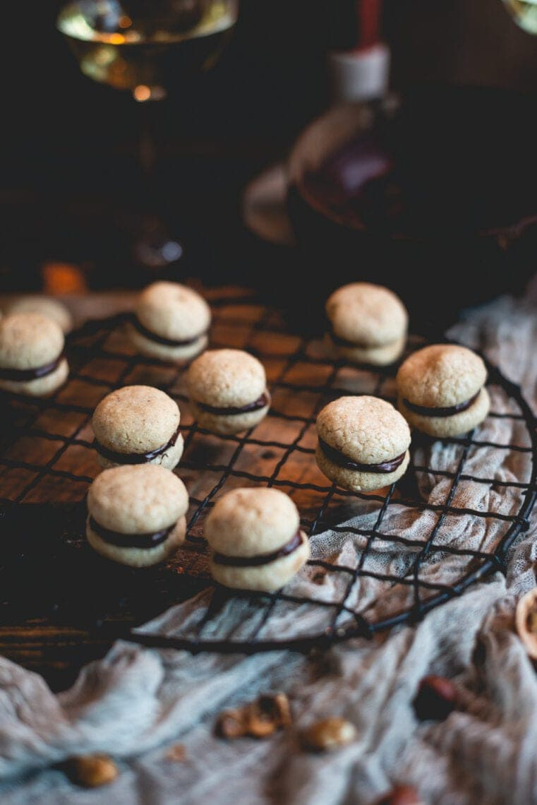 Italian Baci di Dama Cookies (Lady Kisses) | Fare Isle