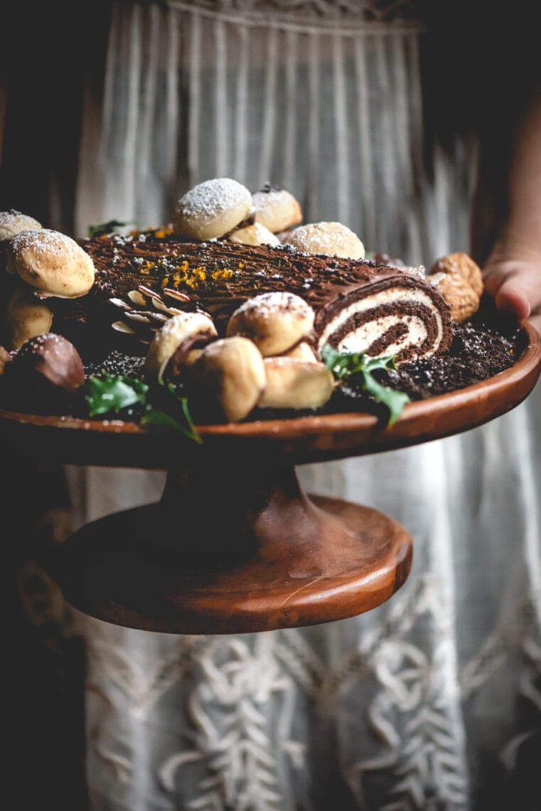 Yule Log Cake | Fare Isle